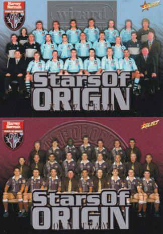 2000 Select NRL Stars Of Origin