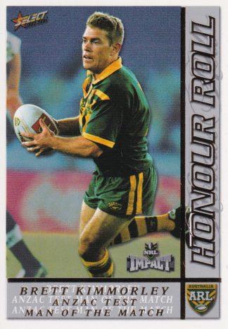 2001 NRL Impact Honour Roll
