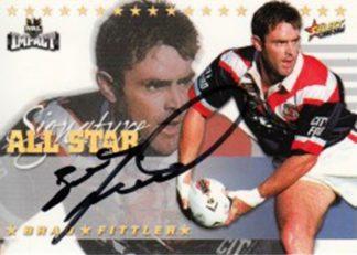 2001 NRL Impact All Stars Signatures