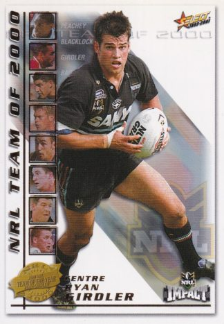 2001 NRL Impact Team Of The Year