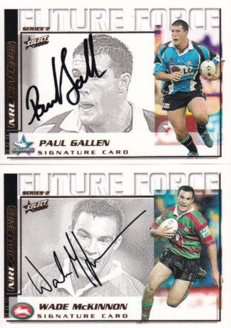 2002 NRL Trading Cards