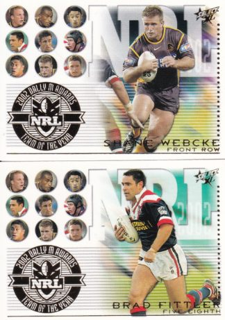 2003 NRL XL Team Of The Year