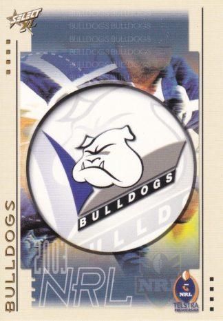 2003 Bulldogs