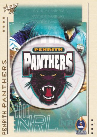 2003 Panthers
