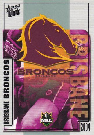 2004 Broncos