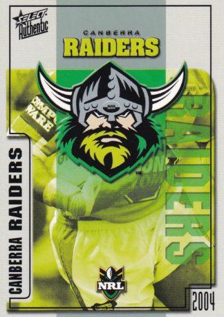 2004 Raiders