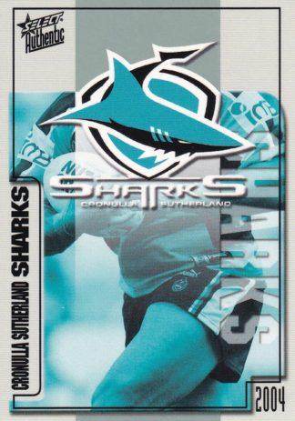 2004 Sharks