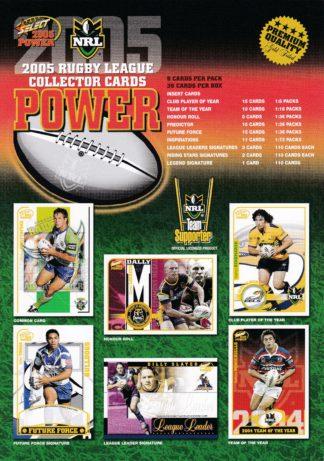 2005 NRL Power