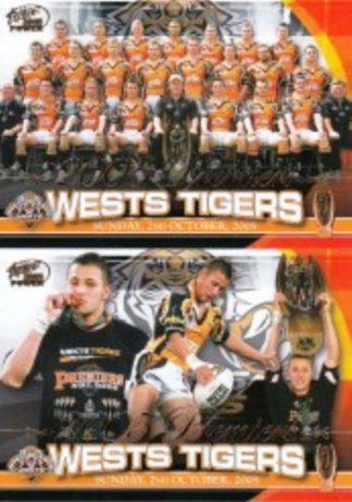 2005 NRL Power Redeemed Premiers Set