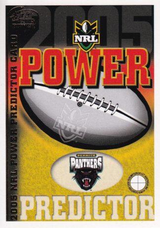 2005 NRL Power Premiership Predictors