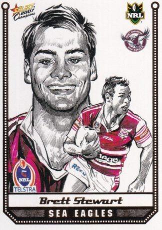 2007 NRL Champions Sketch Cards