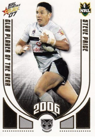 2007 NRL Invincible Club Player Of The Year
