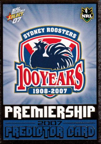 2007 NRL Invincible Premiership Predictors