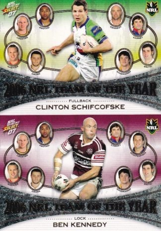 2007 NRL Invincible Team Of The Year