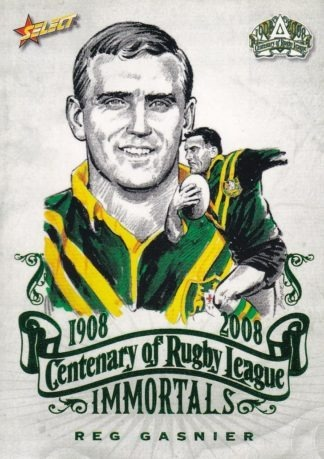 2008 NRL Centenary Immortal Sketch Cards