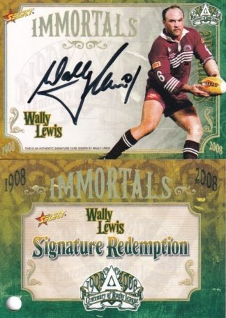 2008 NRL Centenary Immortals Signatures