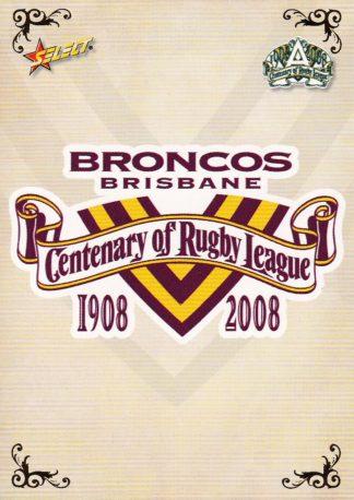 2008 Broncos