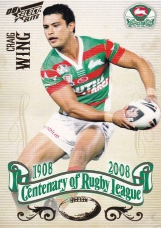 2008 NRL Centenary Common Cards