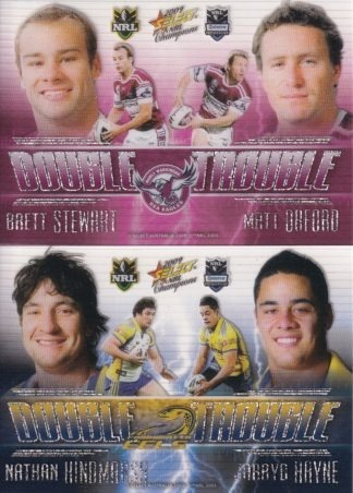 2009 NRL Champions Double Trouble