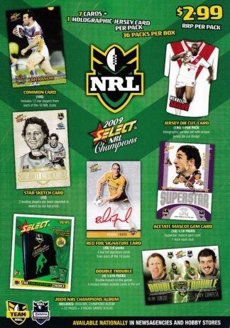 2009 NRL Champions