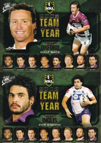 2009 NRL Classic Team Of The Year