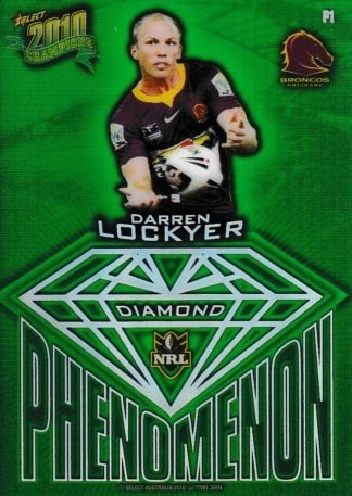 2010 NRL Champions Diamond Phenomenon Gems