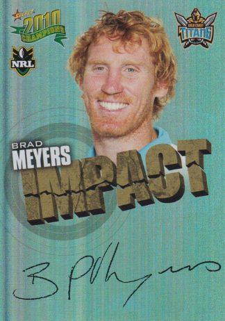 2010 NRL Champions Impact Signatures