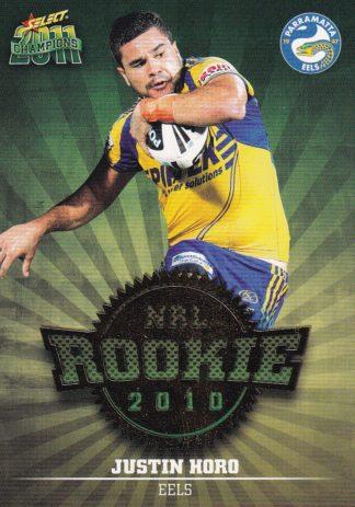 2011 NRL Champions 2010 NRL Rookies