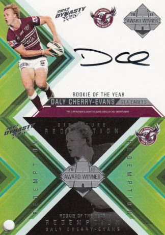2012 NRL Dynasty Signature Redemptions