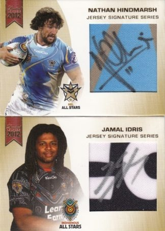 2012 NRL Limited Edition Jersey Signatures
