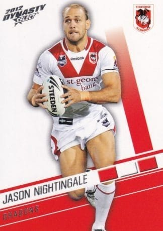 2012 NRL Dynasty Common Cards