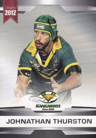 2012 NRL Limited Edition Common Cards