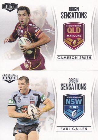 2013 NRL Elite Case Cards
