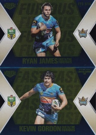 2013 NRL Elite Gold Fast & The Furious