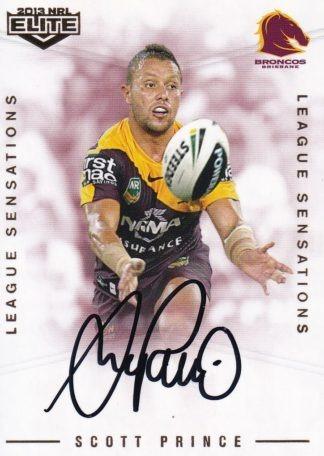 2013 NRL Elite League Sensations Signatures
