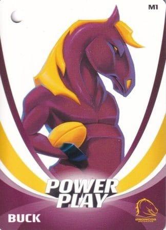 2013 NRL Power Play Mascot Bag Tags