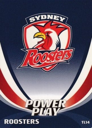 2013 NRL Power Play Team Logo Cards
