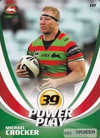 2013 NRL Power Play Base Common Cards