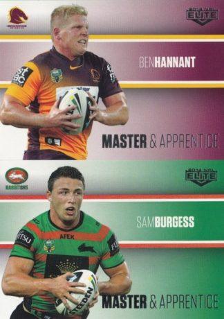 2014 NRL Elite Master & Apprentice