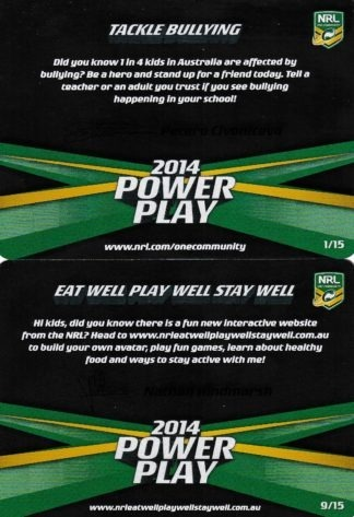 2014 NRL Power Play One Community Cards