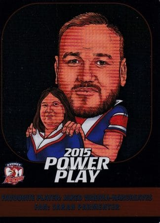 2015 NRL Power Play Fan Cards