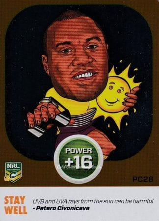 2015 NRL Power Play Power Cards