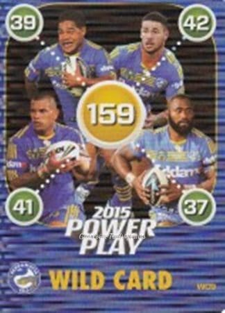 2015 NRL Power Play Wild Cards