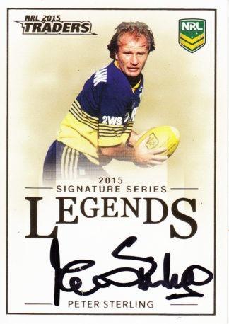 2015 NRL Traders Legends Signature Cards
