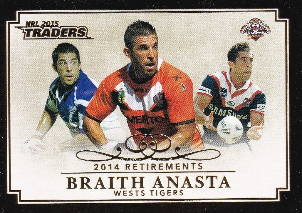 Sports Mem, Cards & Fan Shop 2013 NRL Traders WESTS TIGERS Team Set Rugby League (NRL) Cards