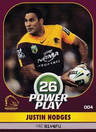 2015 NRL Power Play Base Common Cards