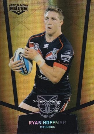 2015 NRL Elite Gold Parallels