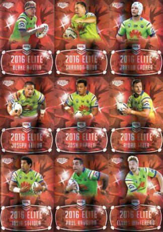 2016 NRL Elite Ruby Mojo Team Sets
