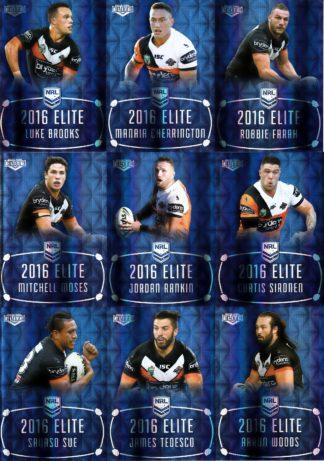 2016 NRL Elite Sapphire Mojo Team Sets