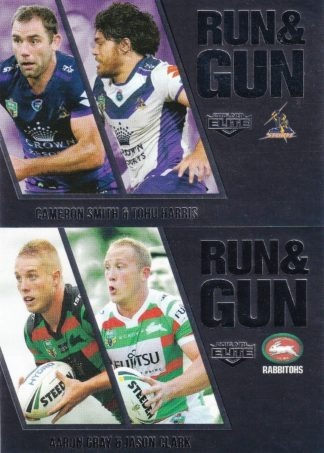 2016 NRL Elite Run & Gun Parallels